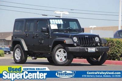 Used 2017 Jeep Wrangler Unlimited Sport