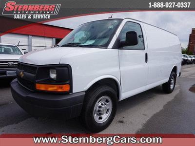 Used 2014 Chevrolet Express 3500 Work Van