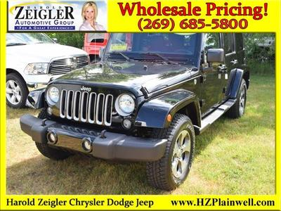 Used 2017 Jeep Wrangler Unlimited Sahara