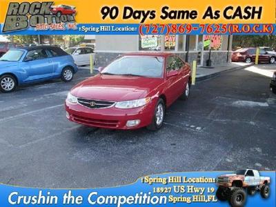 Used 1999 Toyota Camry Solara SLE V6