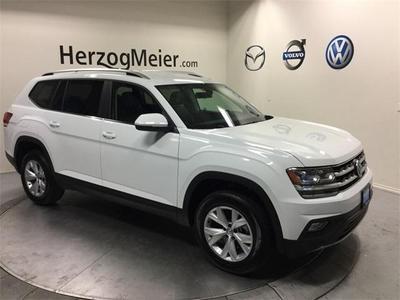New 2018 Volkswagen Atlas 3.6L SE