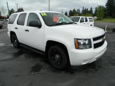 Used 2012 Chevrolet Tahoe Police