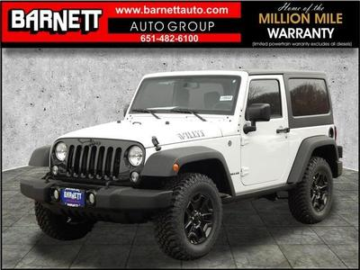 New 2017 Jeep Wrangler Willys Wheeler