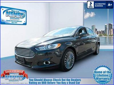 Used 2014 Ford Fusion Titanium