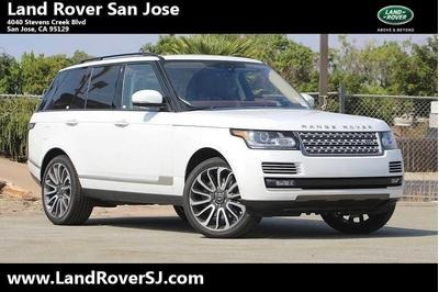New 2017 Land Rover Range Rover 5.0L Supercharged Autobiography