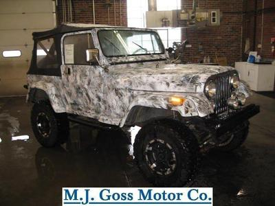 Used 1986 Jeep CJ-7