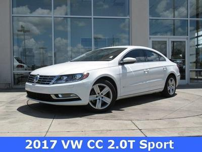 New 2017 Volkswagen CC 2.0T Sport
