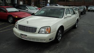 Used 2001 Cadillac DeVille DHS