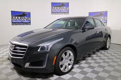 New 2016 Cadillac CTS 4dr AWD Sedan 2.0L Turbo Luxury Collection