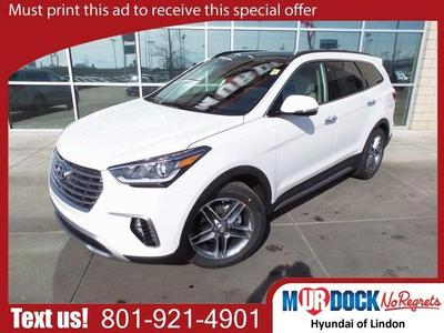 New 2017 Hyundai Santa Fe Limited Ultimate