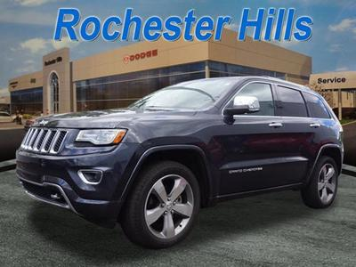New 2014 Jeep Grand Cherokee Overland