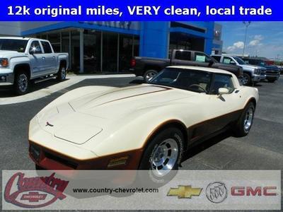 Used 1981 Chevrolet Corvette Coupe