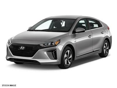New 2017 Hyundai IONIQ Hybrid Blue