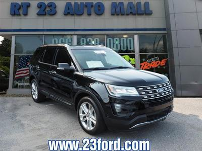 Certified 2016 Ford Explorer Limited