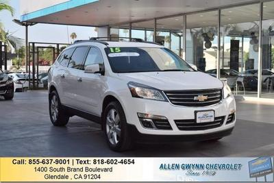 Certified 2015 Chevrolet Traverse LTZ