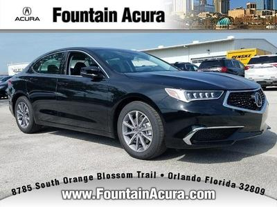 New 2018 Acura TLX Technology