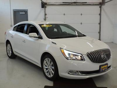 Certified 2016 Buick LaCrosse Leather