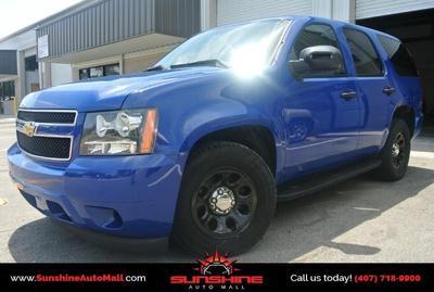 Used 2011 Chevrolet Tahoe Police