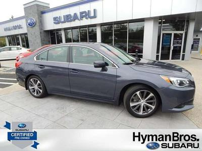 Certified 2016 Subaru Legacy 2.5i Limited
