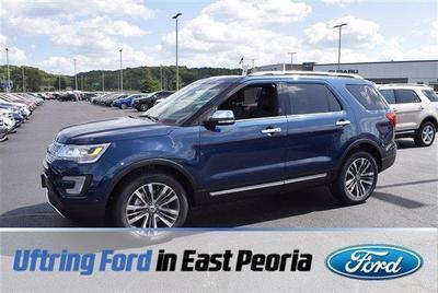 New 2017 Ford Explorer Platinum