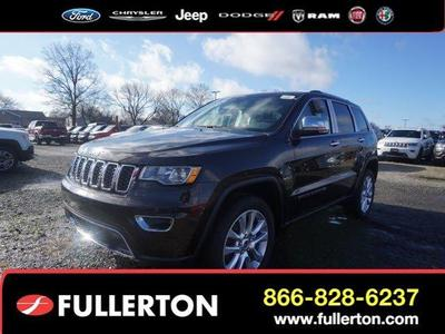 New 2017 Jeep Grand Cherokee Limited