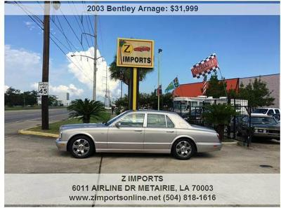 Used 2003 Bentley Arnage R