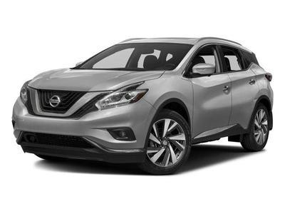 New 2016 Nissan Murano SL