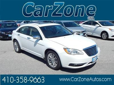 Used 2012 Chrysler 200 Limited