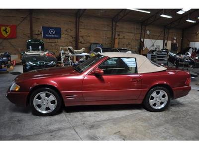 Used 1999 Mercedes-Benz SL500 Roadster
