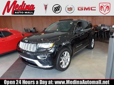 New 2016 Jeep Grand Cherokee Summit