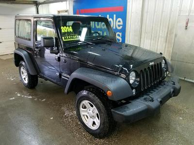 Used 2014 Jeep Wrangler Sport
