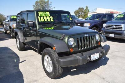 Used 2007 Jeep Wrangler Unlimited X