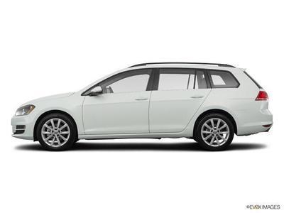 New 2017 Volkswagen Golf SportWagen TSI S