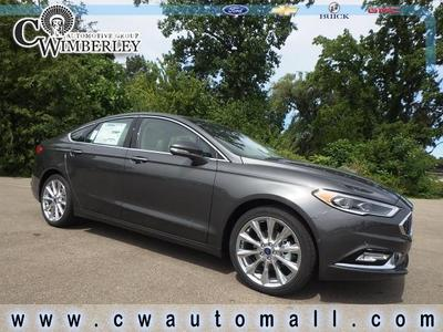 New 2018 Ford Fusion Platinum