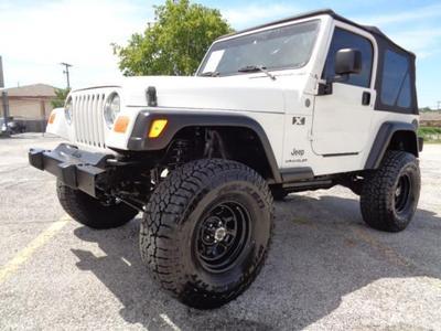Used 2004 Jeep Wrangler X