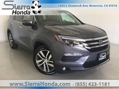 New 2017 Honda Pilot Elite