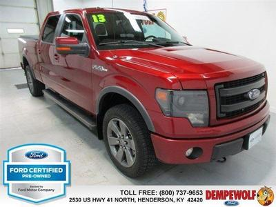 Certified 2013 Ford F-150 FX4