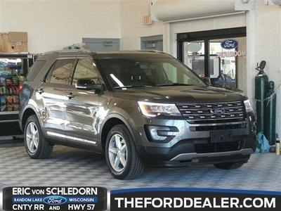 New 2016 Ford Explorer XLT