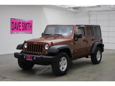 Used 2014 Jeep Wrangler Unlimited Sport