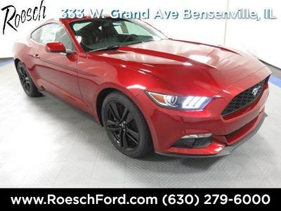 New 2016 Ford Mustang EcoBoost Premium