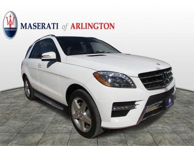 Used 2015 Mercedes-Benz ML400 4MATIC