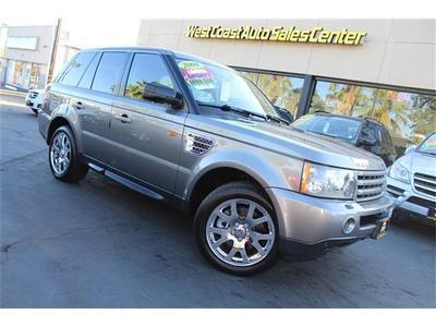 Used 2008 Land Rover Range Rover Sport HSE