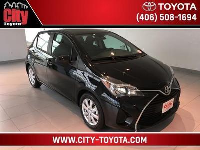 New 2017 Toyota Yaris LE