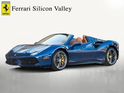 Certified 2017 Ferrari 488 Spider