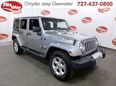 Certified 2013 Jeep Wrangler Unlimited Sahara