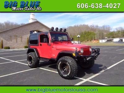 Used 2001 Jeep Wrangler SE