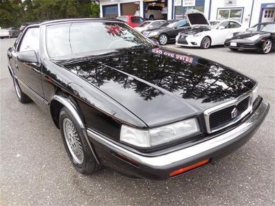 Used 1991 Chrysler TC by Maserati Base