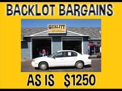 Used 2001 Chevrolet Malibu