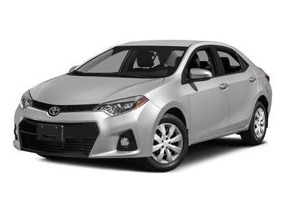 New 2015 Toyota Corolla S Plus