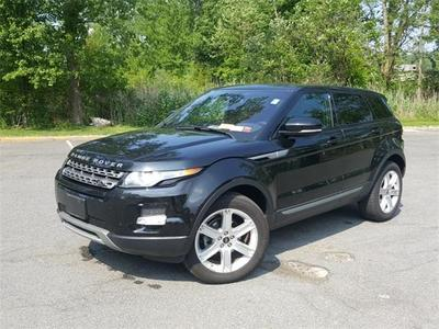 Certified 2013 Land Rover Range Rover Evoque Pure